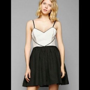 Urban Outfitters Queen of Hearts Fit & Flare Dress